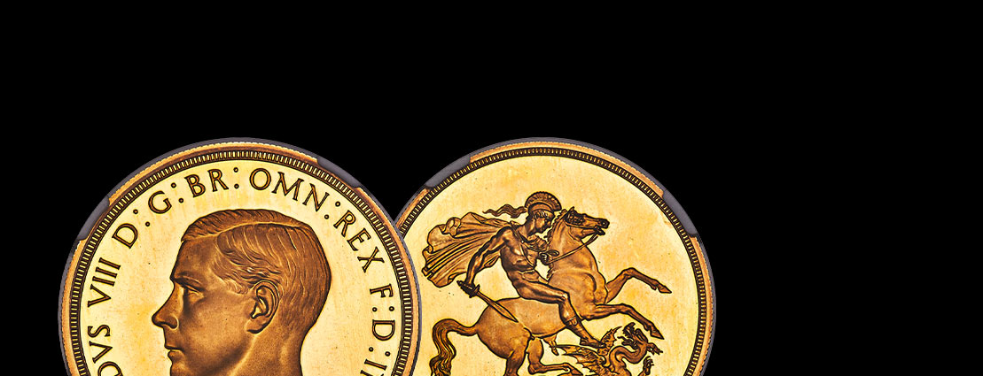 The Legendary Edward VIII Pattern 5 Pounds - The Coin Even a King Couldn't Have