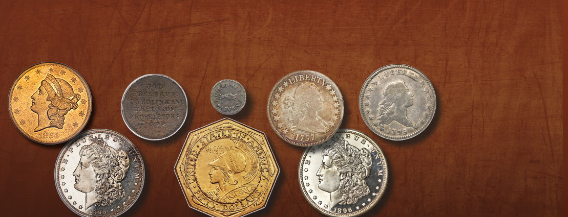 Featured Various US Coins