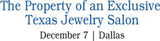 December 7 Jewelry Signature Auction - New York #5504