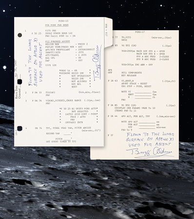 Apollo 11 Lunar Module Flown 'LM G and N Dictionary' with Extensive Signed LOA