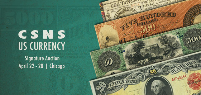 2015 April 22 - 28 CSNS Currency Signature Auction - Chicago #3533