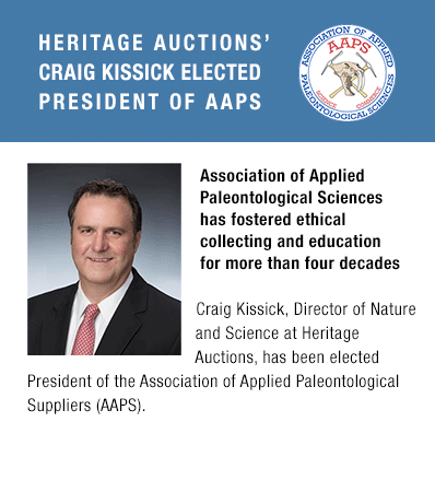 Heritage Auctions' Craig Kissick Elected President of AAPS