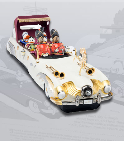Carl Barks Scrooge McDuck 'Trail of the Unicorn' Limousine by Connoisseur of Malvern