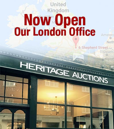 Heritage Auctions London Office is Now Open