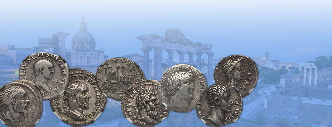 Featured Coins from the The Paul Balla Collection of Roman Silver Denarii Monthly Internet Auction #271726