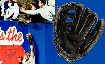 Glove used by kid to catch Jeter's disputed 1996 ALCS game 1 home run sell for $22,705