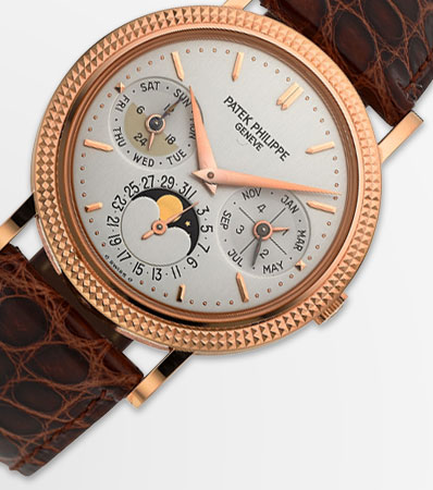 Patek Philippe Ref. 5039R-001 Very Fine Rose Gold Perpetual Calendar With Moon Phases & AM/PM Indication
