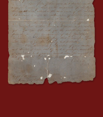 Robert E. Lee's General Orders No. 9 issued to the captain of 'Lee's Body Guard'