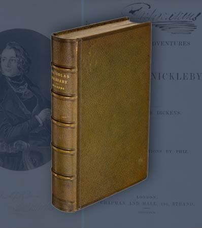 Charles Dickens. The Life and Adventures of Nicholas Nickleby.