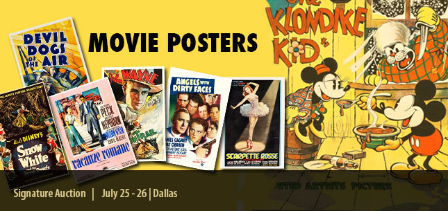 2015 July 25 - 26 Vintage Movie Posters Signature Auction - Dallas #7109