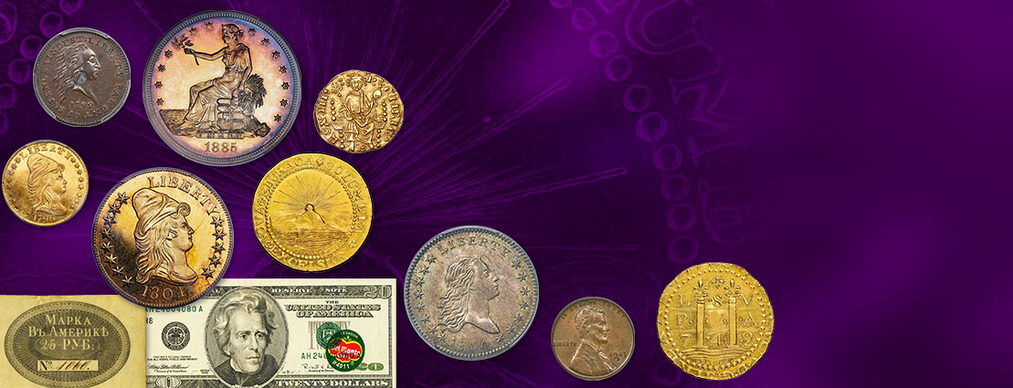 Featured coins and currency of 2021 FUN and NYINC