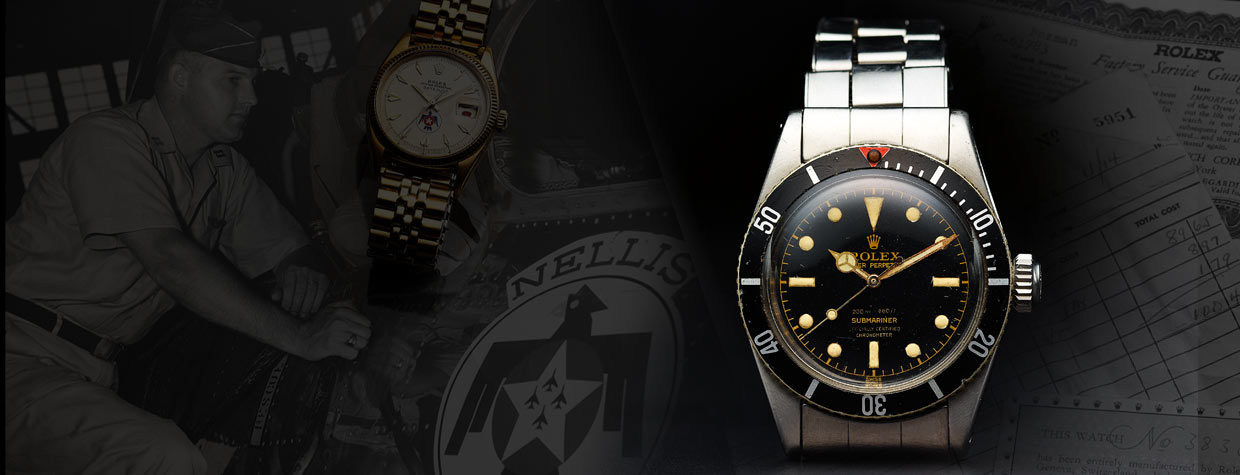 Rolex, Extremely Rare And Important Submariner