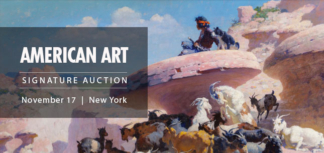 2014 November 17 American Art Signature Auction - New York #5198