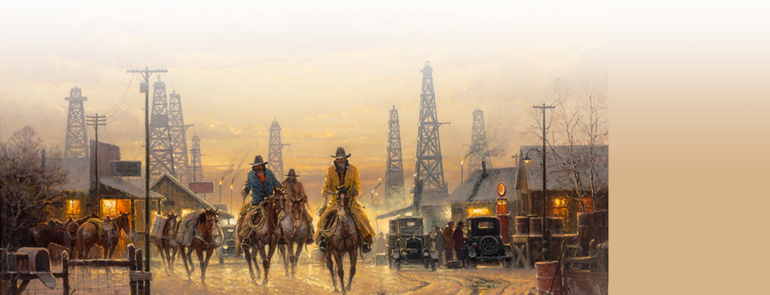 G. (Gerald Harvey Jones) Harvey (American, 1933-2017) When Cowboys Don't Change, 1993