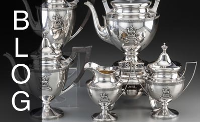 Five for Friday: Antique Fine Silver Serving Pieces