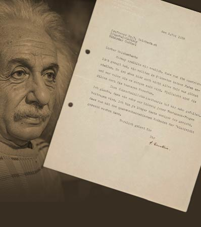 Albert Einstein disparages Princeton's practice of not appointing Jewish professors