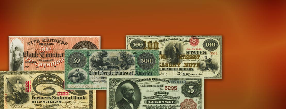 Featured US  Currency