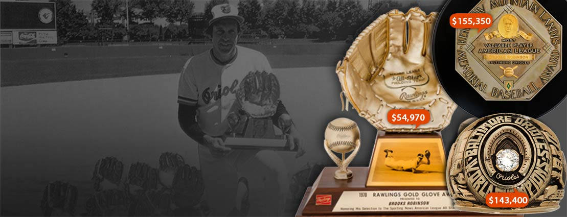 1964  Most Valuable Player Award | 1970 World Series Championship Ring | 1970 Gold Glove Award