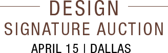 April 15 Design Signature Auction - Dallas #5401
