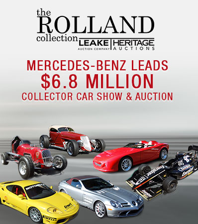 Mercedes-Benz from the Rolland Collection Leads $6.8 Million Collector Car Show & Auction