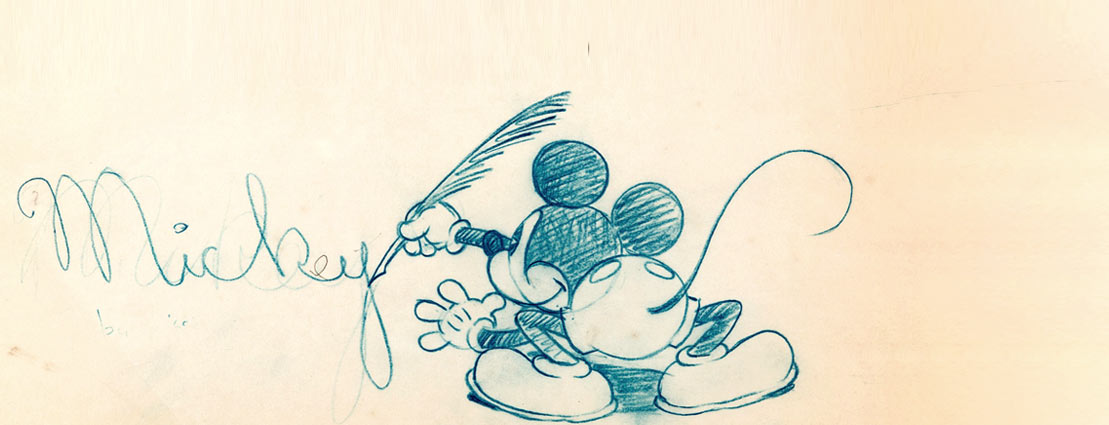 November 27 Mickey Mouse and Friends - Animation Art Signature Internet Auction #121995