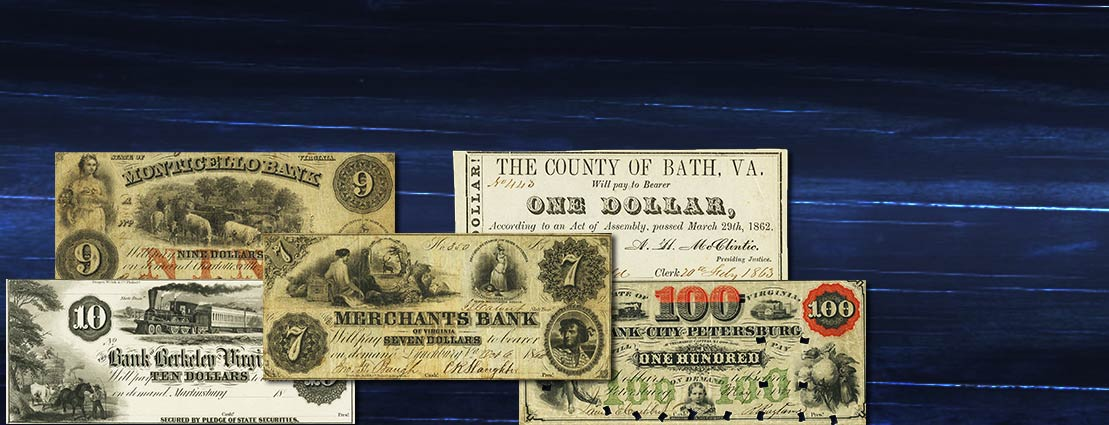 Aberon Collection of Virginia Obsolete Banknotes