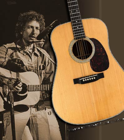Bob Dylan's History-making Owned & Stage-Played 1963 Martin offered Nov. 11