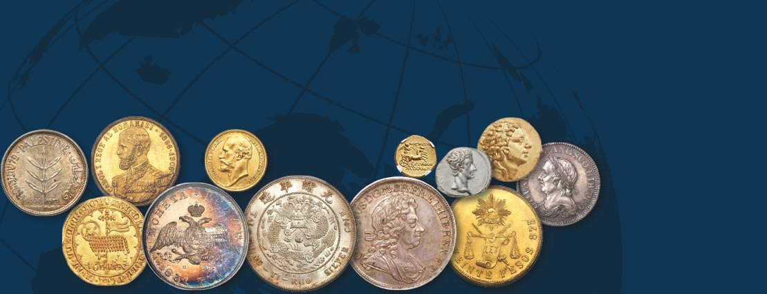 Featured Various World Coins