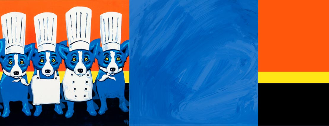 George Rodrigue (1944-2013) Heat in the Kitchen, 2009