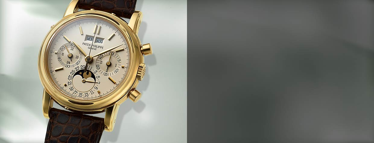 Patek Philippe Ref. 5004P Extremely Rare And Important Platinum Wristwatch With Split-Seconds Chronograph, Registers, Perpetual Calendar, Moon Phases, Leap Year And 24 Hour Indication
