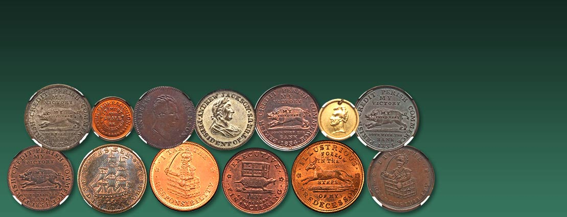 October 29 Certified American Tokens & Medals Special Monthly Auction #63159
