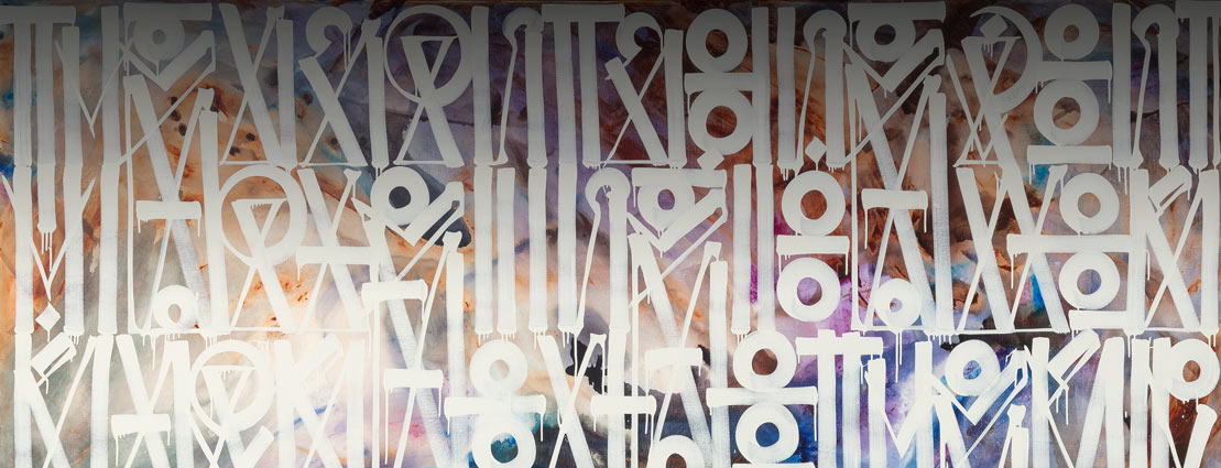 RETNA (b. 1979) They Can't Come, 2015