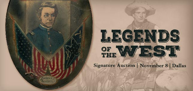 November 8 Legends of the West Signature Auction - Dallas #6125
