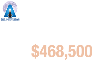 Spacecraft ID plate from Apollo 11's Lunar Module Eagle Sold for $468,500