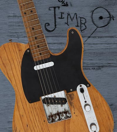 Stevie Ray Vaughan's First Studio Guitar: Long lost 1951 Fender No-caster
