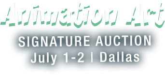 July 1 - 2 Animation Art - Dallas #7171