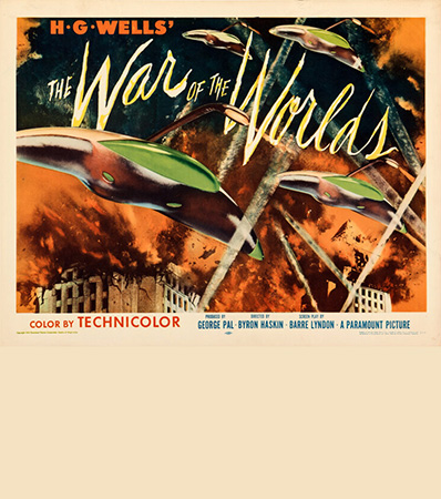 The War of the Worlds (Paramount, 1953). Rolled, Very Fine/Near Mint