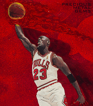 1997 Metal Universe Michael Jordan #23 BGS NM-MT 8 - #'d 52/100