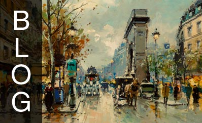 Original Antoine Blanchard Paintings Must Be Authenticated by Signature