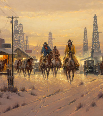 G. (Gerald Harvey Jones) Harvey (American, 1933-2017), When Cowboys Don't Change, 1993