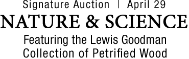 April 29 Nature & Science Signature Auction - Dallas #5280