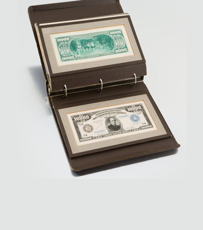 Series 1914-1918 $5, $10, $20, $50, $100, $500, $1000, $5000, $10,000 Federal Reserve Note Face