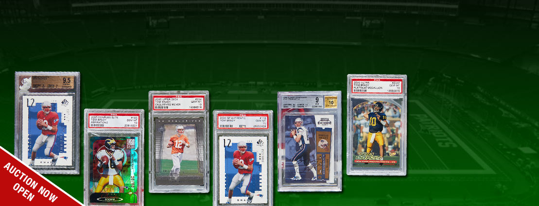 Featuring the Tom Brady Card Collection