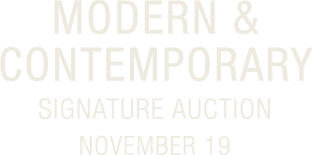 November 19 Modern & Contemporary Art Signature Auction - #8019