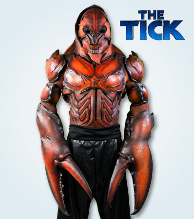The Villain Gets the Win at 'The Tick' Auction as Lobstercules' Costume, Head Snare