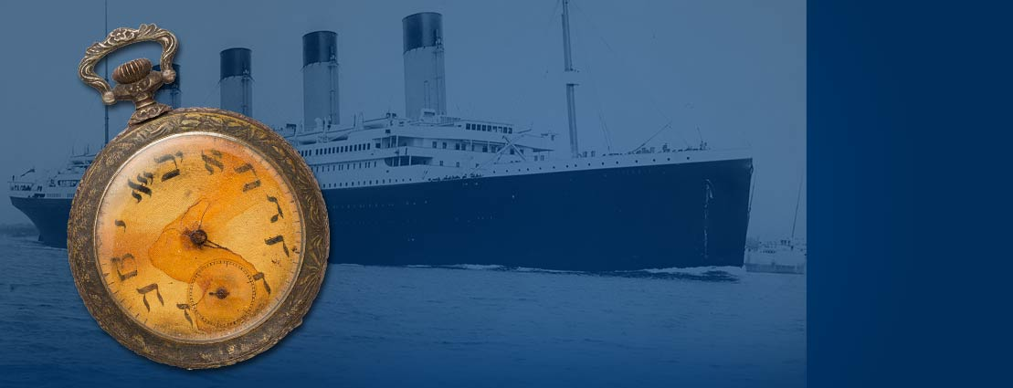 Titanic Timepiece Collector Casts $57,500 Winning Bid for Victim's Pocket Watch