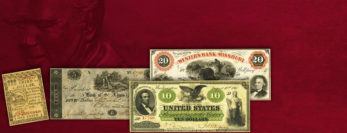 2015 October 21 - 24 Eric P. Newman Collection Part VII Currency Auction -#3539