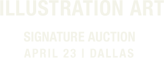April 23 Illustration Art Signature Auction - Dallas #5390
