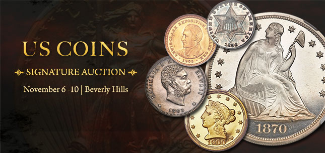 2014 November 6 - 10 US Coins Signature Auction - Beverly Hills #1211