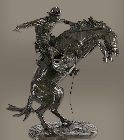 Frederic Remington | The Bronco Buster, conceived 1908, cast 1910